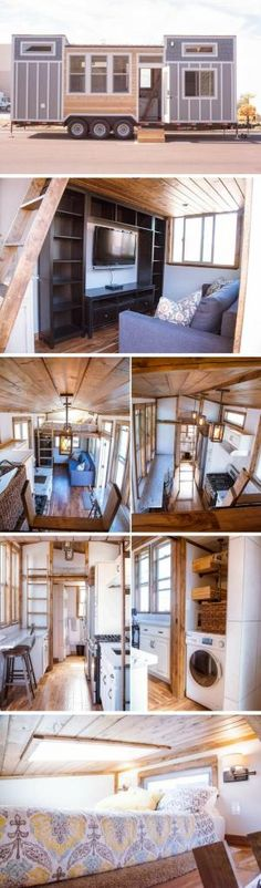 The Teton tiny house by Alpine Tiny Homes by goldie