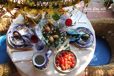 At Home Italian Easter by Francesca Easter Table Settings, Easter Food, Table Set Up, Italian Recipes, Seaside, Weather, Houses, Times, Dress