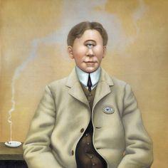 """Artwork by Francesca Sundsten for King Crimson's 'Radical Action To Unseat The Hold Of Monkey Mind'"