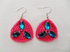 Summer Earrings   Crochet   Handmade   GYPSY
