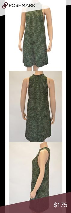 MISSONI A-LINE DRESS WITH POCKETS SIZE L UBER  CHIC AND SUPER SOFT STRETCH  MISSONI  KNIT DRESS WITH  HIGH NECK AND CUT IN SHOULDERS A-LINE CUT WITH HIDDEN LINED SIDE POCKETS EXCELLANT PREOWNED CONDITION THIS WAS ONLY WORN ONE TIME  SIZE LARGE THE ORIGINAL PRICE WAS 795.00 Missoni Dresses Midi