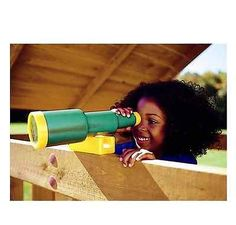 Telescope Outdoor Playset Backyard Playground New Accessory Creative Playthings