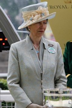 Princess Anne, on the third day of the Royal Ascot 2013