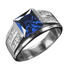 Excelsior Sapphire Men's Ring