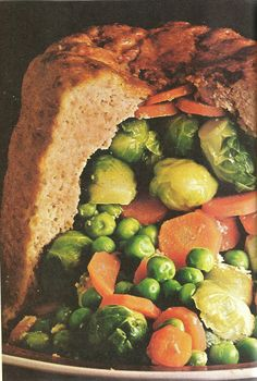 Stuffed Veal Timbale (The Creole Cookbook, Southern Living, 1972)