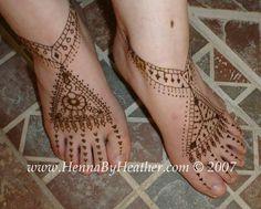 Kuchi Jewelry inspired henna designs by Henna by Heather
