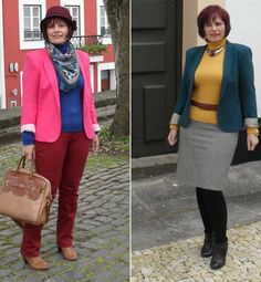 How to dress with 3 colours 1 print