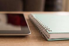 #desk #ipad #notebook #notes #office #tablet