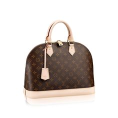 Discover Louis Vuitton Alma MM via Louis Vuitton=$1,810