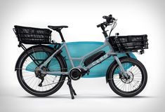 Cero One is an electric bicycle that´s all about cargo capabilities, allowing you to carry almost anything without breaking a sweat. The compact, electric cargo bike helps you move around the city with your goods and haul everything from surfbo Velo Cargo, Cargo Rack, Mercedes G Wagen, Electric Cargo Bike, Diy Camper Trailer, Classic Mercedes, Belt Drive, Off Road Camper, Bike Style