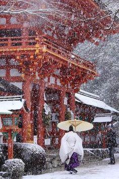 Winter in Japan by shikhashrivastav