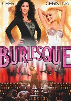 Burlesque (2010) After leaving Iowa with stars in her eyes, Ali (Christina Aguilera) arrives in Los Angeles and at a burlesque lounge, where she dreams of taking the stage with her soaring voice. Club owner Tess (Cher) is about to lose the place and thinks Ali may help business. Meanwhile, Ali's roommate (Cam Gigandet) starts to fall for her in this snappy, Golden Globe-nominated comedy co-starring Stanley Tucci as Tess's sidekick and Kristen Bell as Ali's rival.