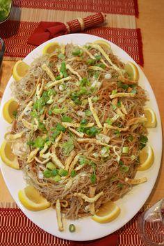 Pancit, platos tradicionales de Filipinas - http://www.absolutfilipinas.com/pancit-platos-tradicionales-de-filipinas/