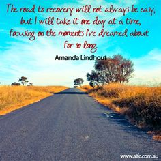 The road to recovery...