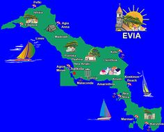 evia Greece Map, Chios, Macrame Tutorial, Places To Visit, Beach, Greek Islands, Travel, Dreams, Beautiful