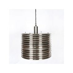 Alaine Drum Pendant - Antique Pewter | Memoky.com