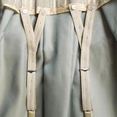 Garter suspenders, KSUM 1995.17.576