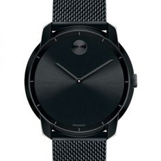 44Mm Bold Watch With Mesh Bracelet, Black via ShopBuy for iPhone