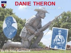 Danie Theron - Hero of the Anglo Boer War African History, South Africa, Army, Hero, Colour, Baseball Cards, Collection, Africans, Gi Joe