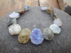 """8 """" Full Strand ,Multi Agate  Hammer Faceted gemstone beads,(E-3060) by JaiVyavsayBeads on Etsy"""
