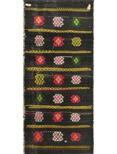 hand-knotted caucasian tribal navy rectangular wool camel bag rug. fucking gorgeous.