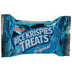 Kellogg's Rice Krispies Treats: My mouth is seriously watering right now!