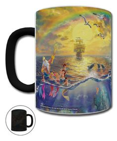 Another great find on #zulily! The Little Mermaid Morphing Mug #zulilyfinds