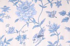 Braemore Devonia Printed Cotton Jacquard Drapery Fabric in Porcelain $8.95 per yard