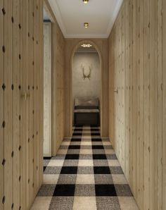 Interfaceflor walk the plank wood look with the softness for Rugs for basement floors