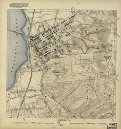 1892 Map of Rural Anacostia