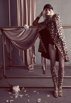Ola Rudnicka by Camilla Akrans for Vogue Japan October 2014