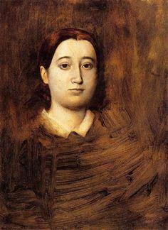 Portrait of Madame Edmondo Morbilli - Artista: Edgar Degas Data da Conclusão…