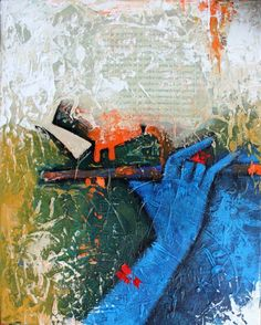 Krishna Painting, Krishna Art, Lord Krishna, Flute Drawing, Oil Painting Abstract, Oil Paintings, Krishna Flute, All Is Lost, Special Images