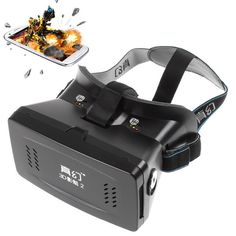 RITECH II Head Mount 3D Version Virtual Reality Glasses Google Movies Games for…