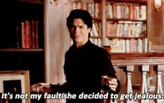 Ian Somerhalder as Damon Salvatore ❥Pinterest: yarenak67