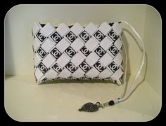 Chanel Candy Wrapper Style Wristlet