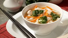 """Asian Noodle Soup 