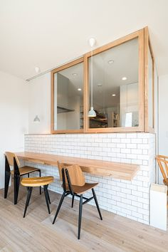 ma | 注文住宅なら建築設計事務所 フリーダムアーキテクツデザイン Bakery Interior, Room Interior, Interior Design, Muji Home, Industrial Chic Decor, Natural Interior, Apartment Layout, Dining Nook, Open Kitchen