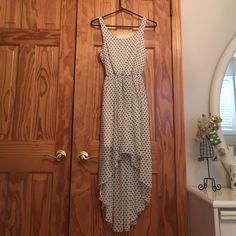 Polka Dot High-Low Dress - Like New!