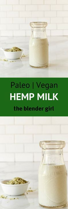 Wondering how to make hemp milk? This homemade hemp seed milk recipe is super easy and is great in smoothies.
