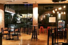 The Well Coffee House Expands With Second Location . Custom Furniture, Coffee Shop, Conference Room, Train, Interior, Shopping, Home Decor, Bespoke Furniture, Coffee Shops