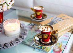Coffee and VERSACE