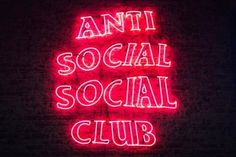 This Is What Went Down at the Anti Social Social Club x RSVP Gallery Launch: The hype was real. Rainbow Aesthetic, Aesthetic Colors, Aesthetic Pictures, Red Aesthetic Grunge, Classy Aesthetic, Aesthetic Collage, Kuroo X Kenma, Haikyuu, Neon Light Signs
