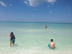 South Lido beach with the kiddos. -FLV