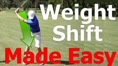 Golf Swing Lesson: Weight Shift (Transfer) Made Easy