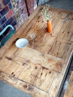 Tisch Landhaus-Stil Bauholz Susanne 200x120 cm von FraaiBerlin