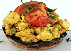 Scrambled Tofu SERVES 2 This is a delicious and easy br…