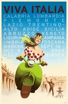 vintage travel posters/ I think I am Italian