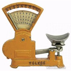 Antique Scales   Antiques & Collectibles Price Guide   Kovels. Vintage scales, great item for on a candy table at your wedding or baby shower.