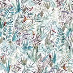 hadas_friedland_hayun פטרן לכבוד הסתיו  #heimtextil2017 #pattern #patterndesign #pink ##birds #justletmedrawbirds #bird #forest #winter#watercolor #illustration #plants #art #floral #flowers #cactus #nature#style #art #interiordesign #textiledesign #textile #love #succulents #cacti #flowerslovers #surfacespatterns